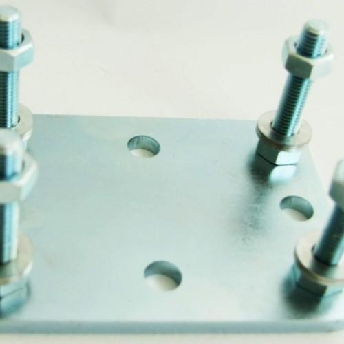 Подставка для роликовой опоры для ворот весом до 700 кг