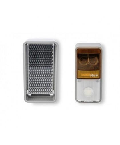 Фотоэлементы Nice EPMOR с приемопередающим элементом и рефлектором с зеркально-линзовым объективом (с отражателем)