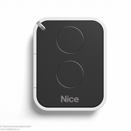 Пульт дистанционного управления 2-х канальный, динамический код NICE FLO2RE