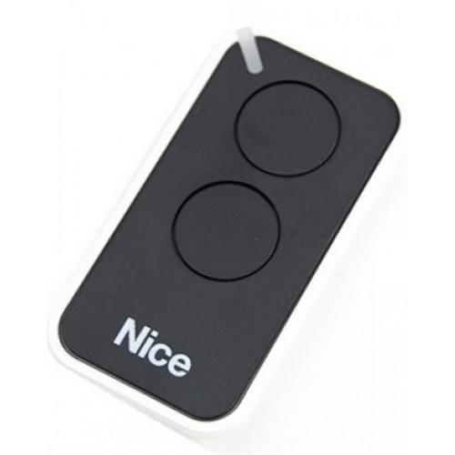 Пульт дистанционного управления 2-х канальный, динамический код NICE INTI2 черный