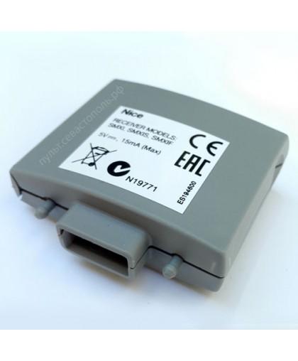 Приемник встраиваемый, 4-х канальный, динамический код NICE SMXI