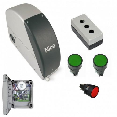 Комплект привода Nice SUMOKIT для промышленных секционных ворот до 35м²
